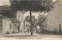 Lagarrigue Lot Et Garonne L'avenue Belle Animation - Autres Communes