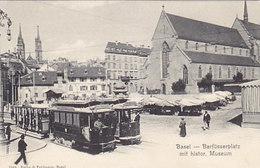 Basel - Barfüsserplatz Mit Tram-Grossaufnahmen       (P38-50221) - BS Bâle-Ville