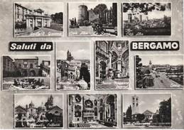 Cartolina - Postcard    -   Saluti Da  Bergamo - Bergamo