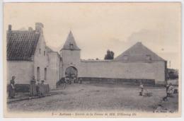 59 - Cpa  Artres -Entrée De La Ferme De MM. D' Haussy Fils - Autres Communes