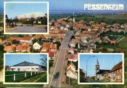N°53174 -cpsm Fessenheim -multivues- - Fessenheim