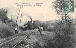 76 - SEINE MARITIME / Aumale - Les Longuignolles - Chemin De Fer D' Amiens à Envermeu - Très Beau Cliché - Aumale