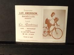 PAD. 38.  Calendrier De 1985. Luc Amorison Basecles, Le Cambrinus - Calendriers