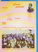 HISTORY VASILE MORTUN JOURNALIST POLITICIAN  ROMANIA POSTCARD STATIONERY - Otros