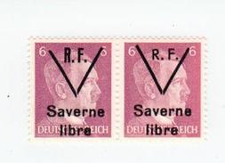 SAVERNE -- Type 1 Et 2 Se Tenant 6pf -- Signé - Liberazione