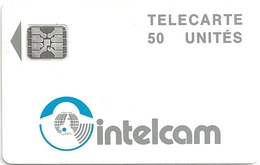Cameroon - Intelcam - Logo Large Arrow - White - 50Units, SC4 Afnor, (Sn. 43698), Used - Cameroon