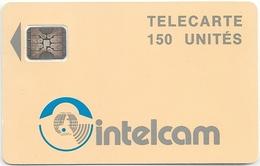 Cameroon - Intelcam - Logo Large Arrow - Cream - 150Units, SC4 Afnor, (Sn. 43685), Used - Cameroon