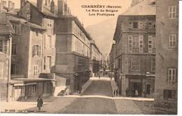 73CHA8- CHAMBERY -  La Rue De Boigne , Les Portiques - Chambery