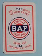 Drink Een BAF Dan Speelt U Straf SPECIALE BAF EXTRA FINE Une ...  / JOKER ( Details - Zie Foto´s Voor En Achter ) !! - Barajas De Naipe