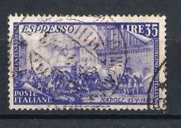 IT74) ITALIA 1948 -Cent.rio Del Risorgimento-Espresso Sassone E32 - 1946-60: Usati