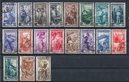 IT80) ITALIA 1950 -Italia Al Lavoro -Serie Cpl. 19val Sassone 634-652 - 1946-60: Usati