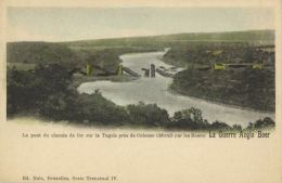 BOER WAR, Railway Bridge Over Tugela Near Colenso Destroyed By Boers (1900) - Other Wars