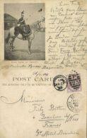 BOER WAR, Drum Horse 9th Lancers (1899) Stamp, Court Card - Other Wars