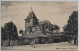 Genollier - Le Temple - Animee - Photo Des Arts No. 2584 - VD Vaud