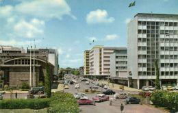 Kenya, NAIROBI, Eliot Street, Cars (1962) Stamps - Kenya