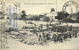 German South-west Africa, WINDHOEK WINDHUK, Brewery, Native School (1923) - Namibia