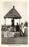 Nigeria, KANO, Police On Point Duty, Bike (1930s) RPPC - Nigeria
