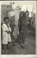 Sudan, PORT SUDAN, Native Children (1950s) RPPC - Sudan