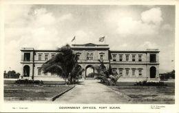 Sudan, PORT SUDAN, Government Offices (1930s) RPPC - Sudan