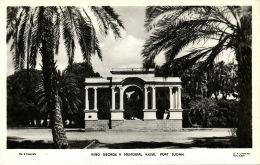 Sudan, PORT SUDAN, King George V Memorial Kiosk (1930s) RPPC - Sudan