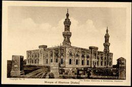 Sudan, KHARTOUM, Mosque, Islam (1930s) - Sudan