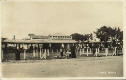 Tanzania, TANGA, Market Place (1930s) RPPC - Tanzania