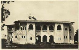 Tanzania, TANGA, Boma Unknown Building (1930s) RPPC - Tanzania