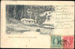 Chile, TEMUCO, Restaurant En La Montaña Virjen (1904) Stamps - Chile
