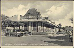 Costa Rica, SAN JOSE, Estacion Del Ferrocarril Atlantico, Railway Station 1930s - Costa Rica