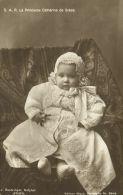 Greece, Princess Katherine Of Greece And Denmark (1916) RPPC - Royal Families