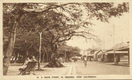 New Caledonia, NOUMEA, Main Street (1940s) - New Caledonia