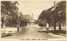 New Caledonia, NOUMEA, Place Courbet (1940s) - New Caledonia