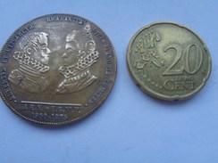Réf: 98-16-273.            Médaille  Alliance Européenne Numismatique. - België