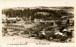 Australia, YASS, N.S.W., The Two Bridges (1930s) RPPC - Australia