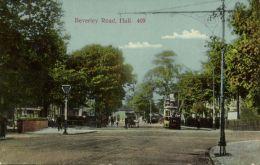 Yorkshire, HULL, Beverley Road, Tram (1929) - Hull