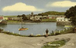 Wales, ABERAYRON ABERAERON, The Harbour (1960s) - Cardiganshire