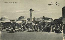 Syria, IDLIB EDLIB IDLEB, Grand Bazar (1910s) Wattar Freres No. 147 - Syria