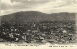 Syria, DAMAS DAMASCUS, Vue Generale Prise De La Grande Mosquee (1920s) - Syria