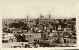 Syria, DAMAS DAMASCUS, Panorama (1930s) RPPC - Syria