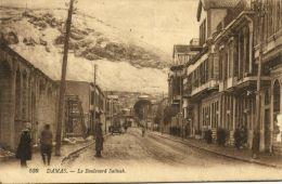 Syria, DAMAS DAMASCUS, Le Boulevard Salhieh (1925) - Syria