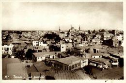 Syria, DAMAS DAMASCUS, General View (1930s) RPPC - Syria