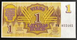 Latvia - 1 Rublis 1992 UNC , Serie BK - Lettonie