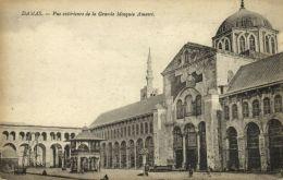 Syria, DAMAS DAMASCUS, Exterior Great Amawi Mosque, Islam (1920) - Syria
