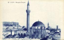 Syria, ALEP ALEPPO, Mosquée Turque, Turkish Mosque (1920s) Baudiniere 62 - Syria