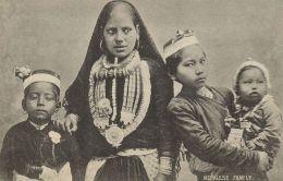 Nepal, Nepalese Family, Nose Piercing, Jewelry (1910s) - Nepal