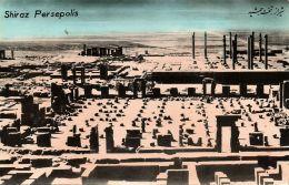 Iran Persia, PERSEPOLIS SHIRAZ, Ruins (1950s) Tinted RPPC (1) - Iran