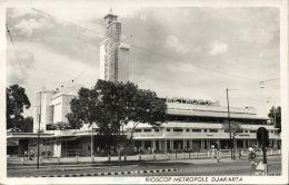 Indonesia, JAVA DJAKARTA, Metropole Cinema Bioscoop (1954) RPPC Stamp - Indonésie