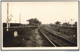 China, CHIN-WANG TAO, QINHUANGDAO, Railway Station (1920s) RPPC - China