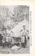 Océanie - Nouvelle-Calédonie - Précurseur 1ère Série - Case Et Canaques De Coindé - Nu - N° 63 - New Caledonia