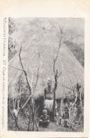 Océanie - Nouvelle-Calédonie - Précurseur 1ère Série - Case Et Canaques De Bouloupari - N° 37 - New Caledonia